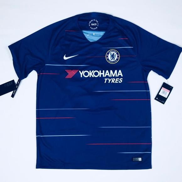 size 40 2c8ab 029cc Nike Chelsea Football Club Home Jersey Eden Hazard NWT